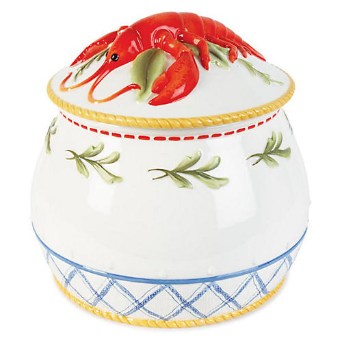 Clam Bake Tall Lidded Soup Tureen
