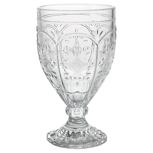 S/4 Trestle Goblets, Clear