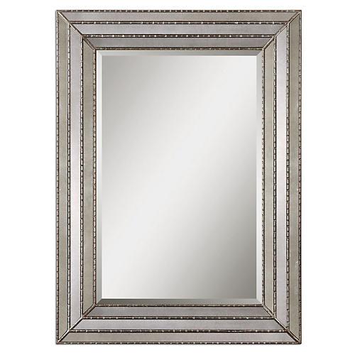 Seneca Wall Mirror, Silver