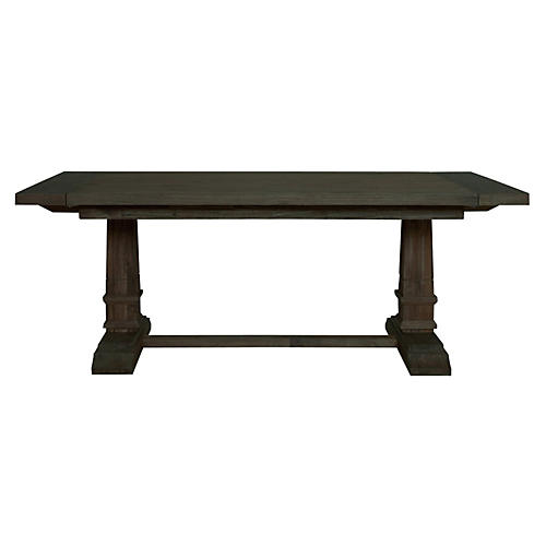 Alfie Extension Dining Table, Java