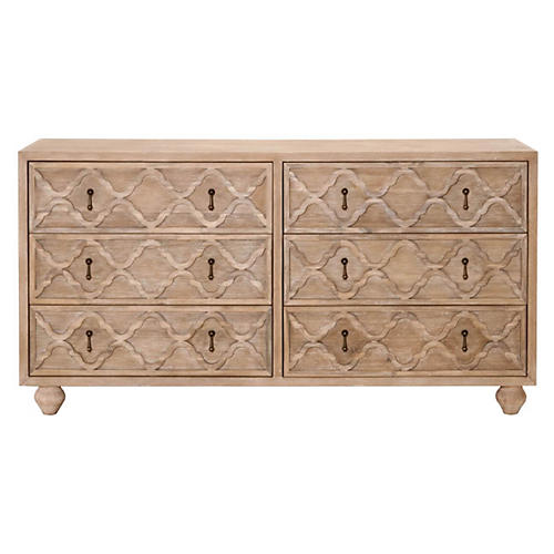 Masha Double Dresser, Stonewash