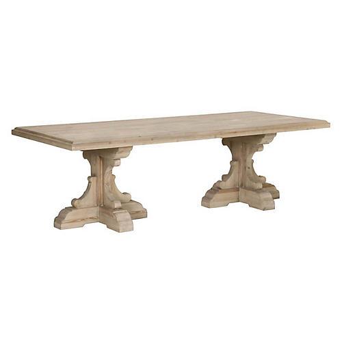 Baldwin Dining Table, Natural