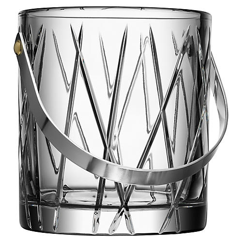 City Ice Bucket, Clear