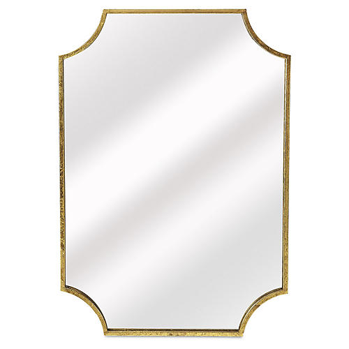 Sela Wall Mirror, Gold