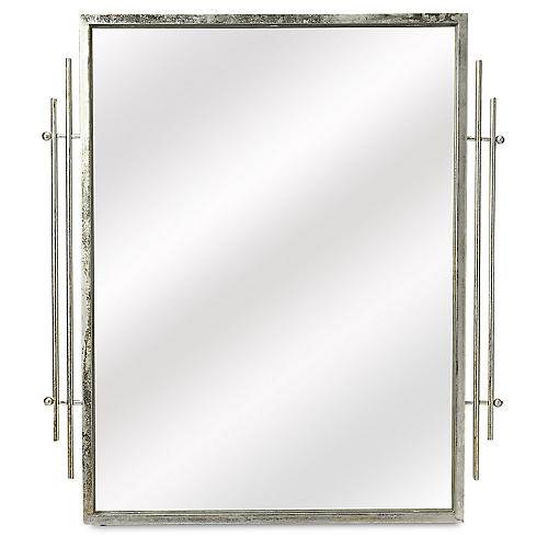 Fortuna Wall Mirror, Silver