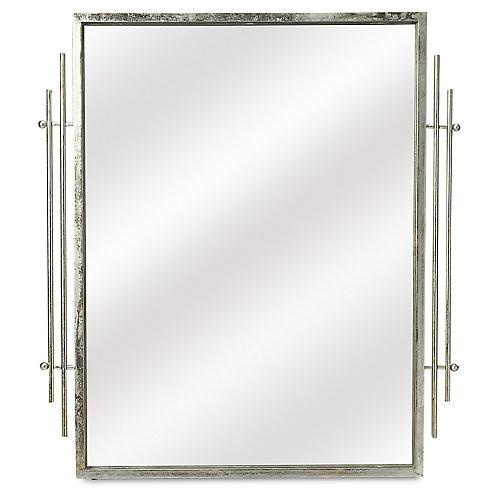 Fortuna Wall Mirror, Silver