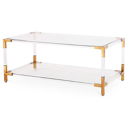 Havenhurst Coffee Table, Gold