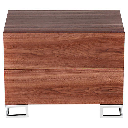 Harper Nightstand, Walnut