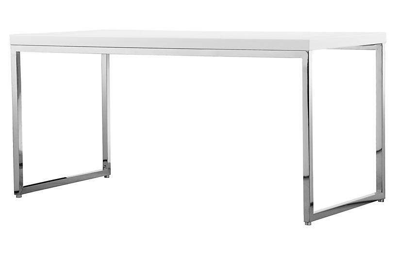 Frank Desk, White