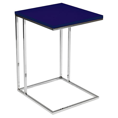 Wilson Side Table, Navy