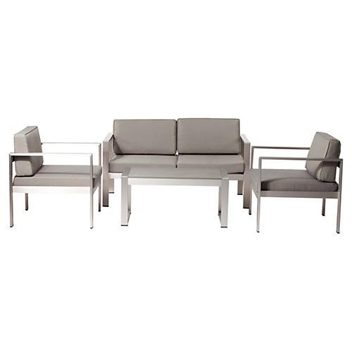 Karen Lounge Set, Taupe