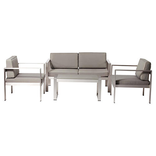 Karen Lounge Set, Taupe