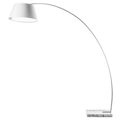 Rachel Floor Lamp, White