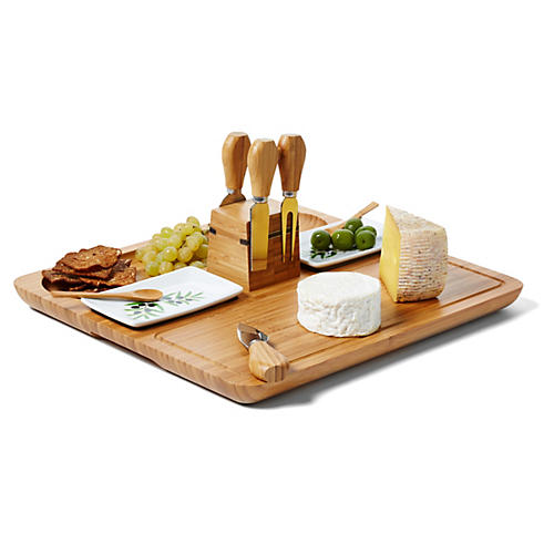 Sherborne Bread & Cheese Serving Set