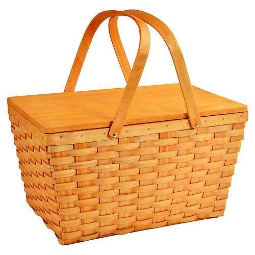 Overland Basket, Honey