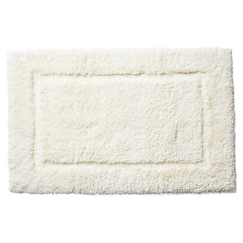Tiffany Bath Rug, Ivory