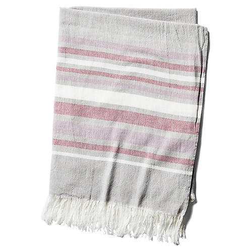 Costa Fouta Towel, Red