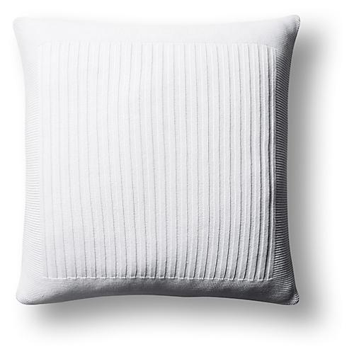 Captiva 20x20 Pillow, White
