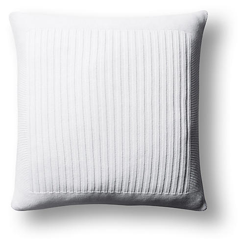 Captiva 20x20 Pillow, White