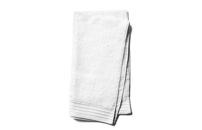 Plaza Hand Towel, White