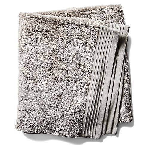 Plaza Bath Towel, Flint