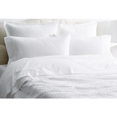 Charlotte Coverlet, White