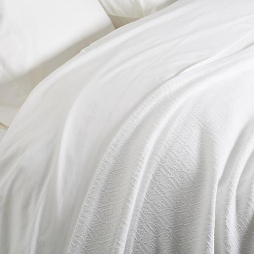 Jewel Blanket, White