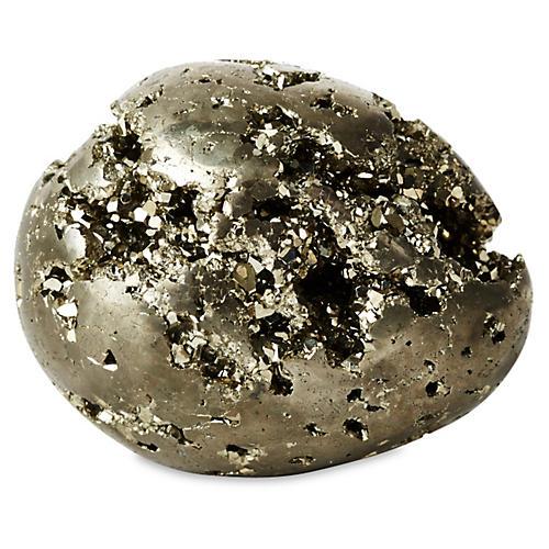 Pyrite Egg Objet