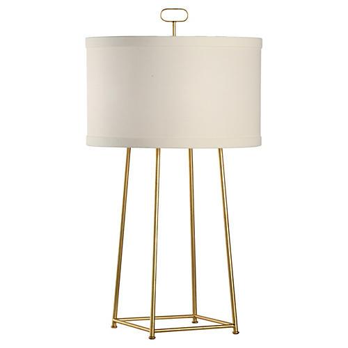 Howell Lamp, Gold Leaf
