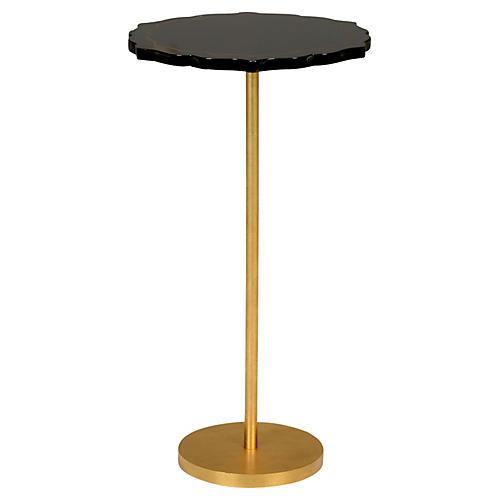Lapis Side Table, Black