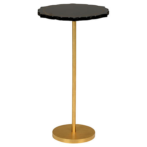 Lapis Side Table, Black