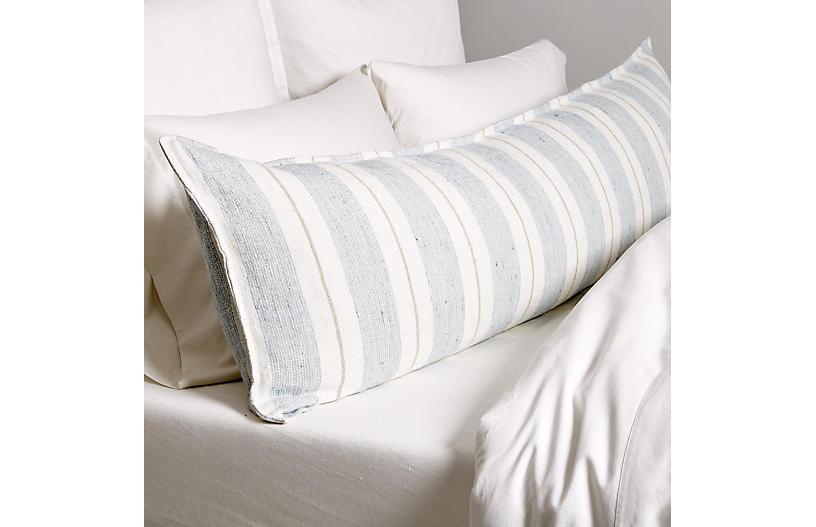 Laguna 18x60 Body Pillow, Ocean/Natural