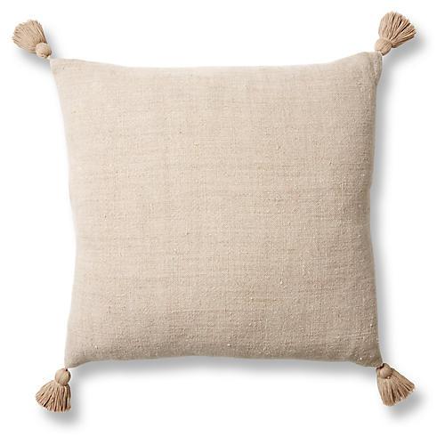 Montauk Sham, Natural Linen
