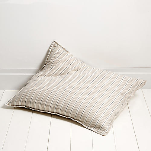 Newport 28x36 Pillow, Natural/Midnight