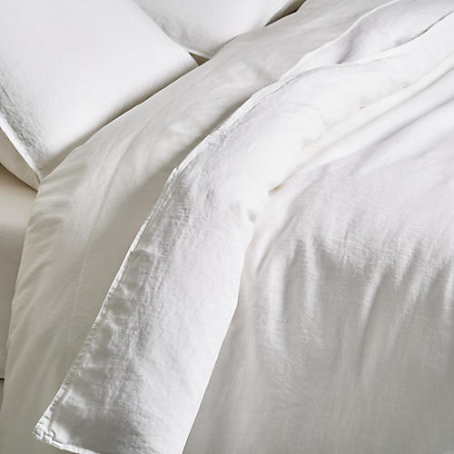 Parker Duvet Set, White