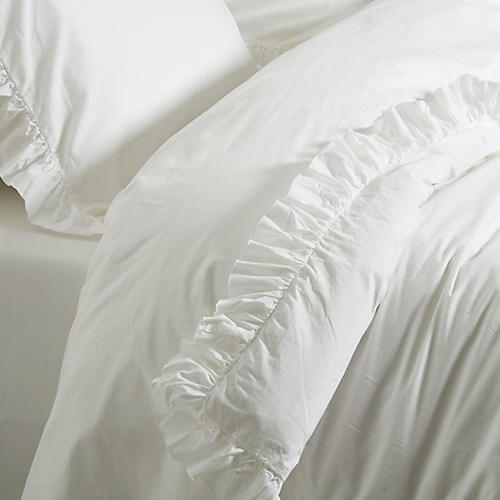 Madison Duvet Set, White
