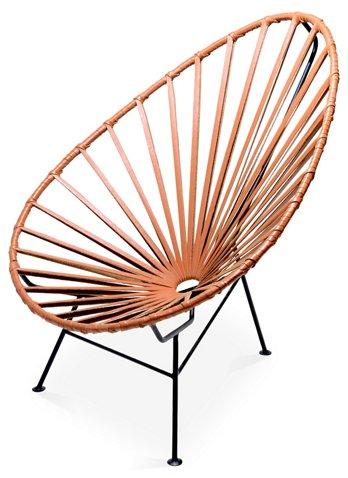 Fantastic Acapulco Lounge Chair Camel Leather Spiritservingveterans Wood Chair Design Ideas Spiritservingveteransorg