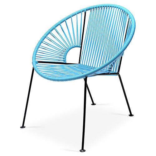 Ixtapa Lounge Chair, Baby Blue