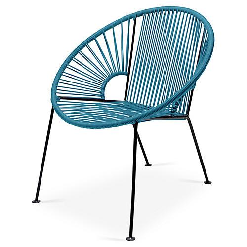 Ixtapa Lounge Chair, Jungle Green