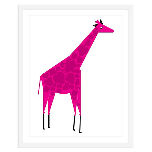 Giraffe Pink, Mini, ModernPOP