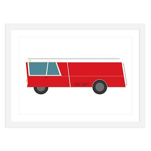 Fire Truck, Mini, ModernPOP