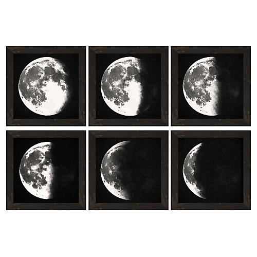 S/6 Moon Descending Prints