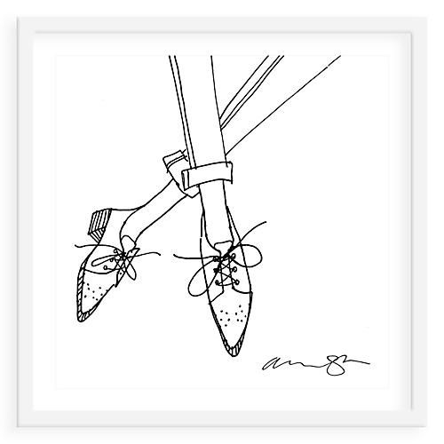 Oxfords Drawing