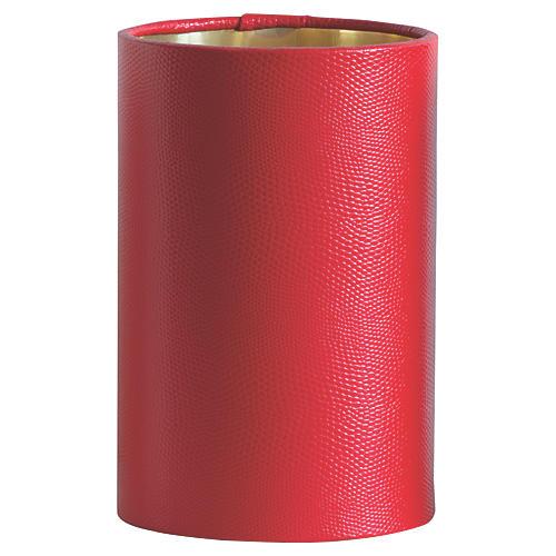 Hardback Hanging Shade, Red