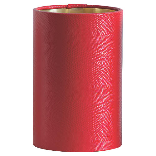 Hardback Hanging Shade, Red