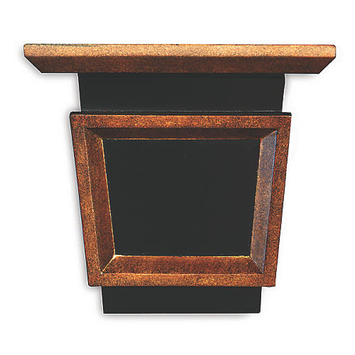 "11"" Jonathon Shelf, Bronze/Black"