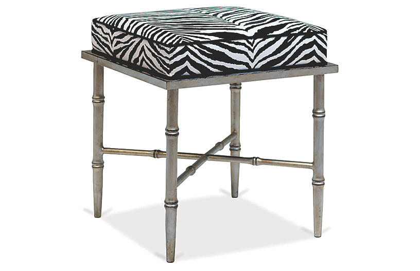 Doheny Stool - White/Black - Port 68