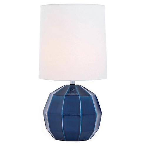 Harry Table Lamp, Translucent Blue
