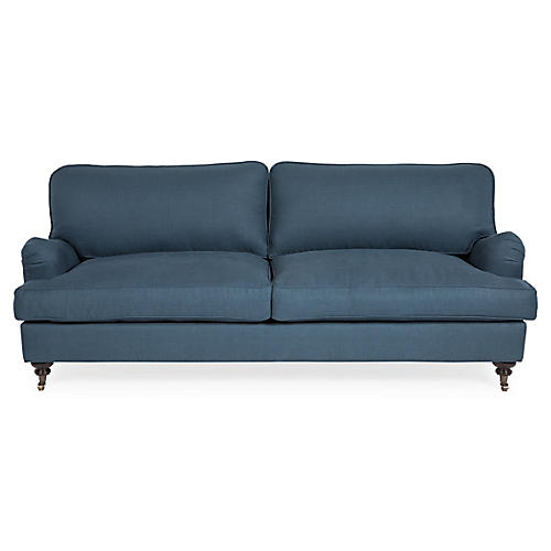Durham Sofa, Lagoon Linen