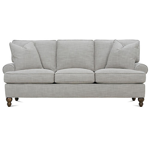 "Cindy 84"" Sofa, Putty"